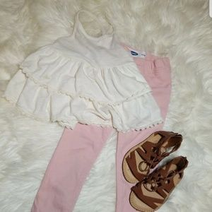 Old navy jeggings & top